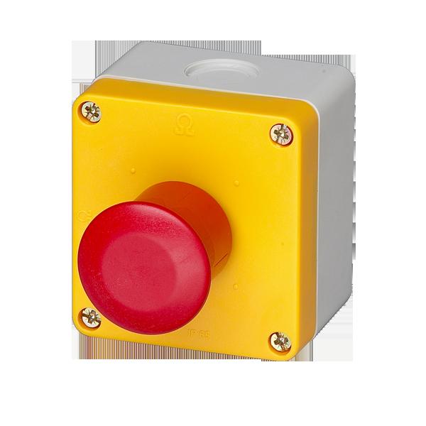 schéma bouton d'arrêt d'urgence
